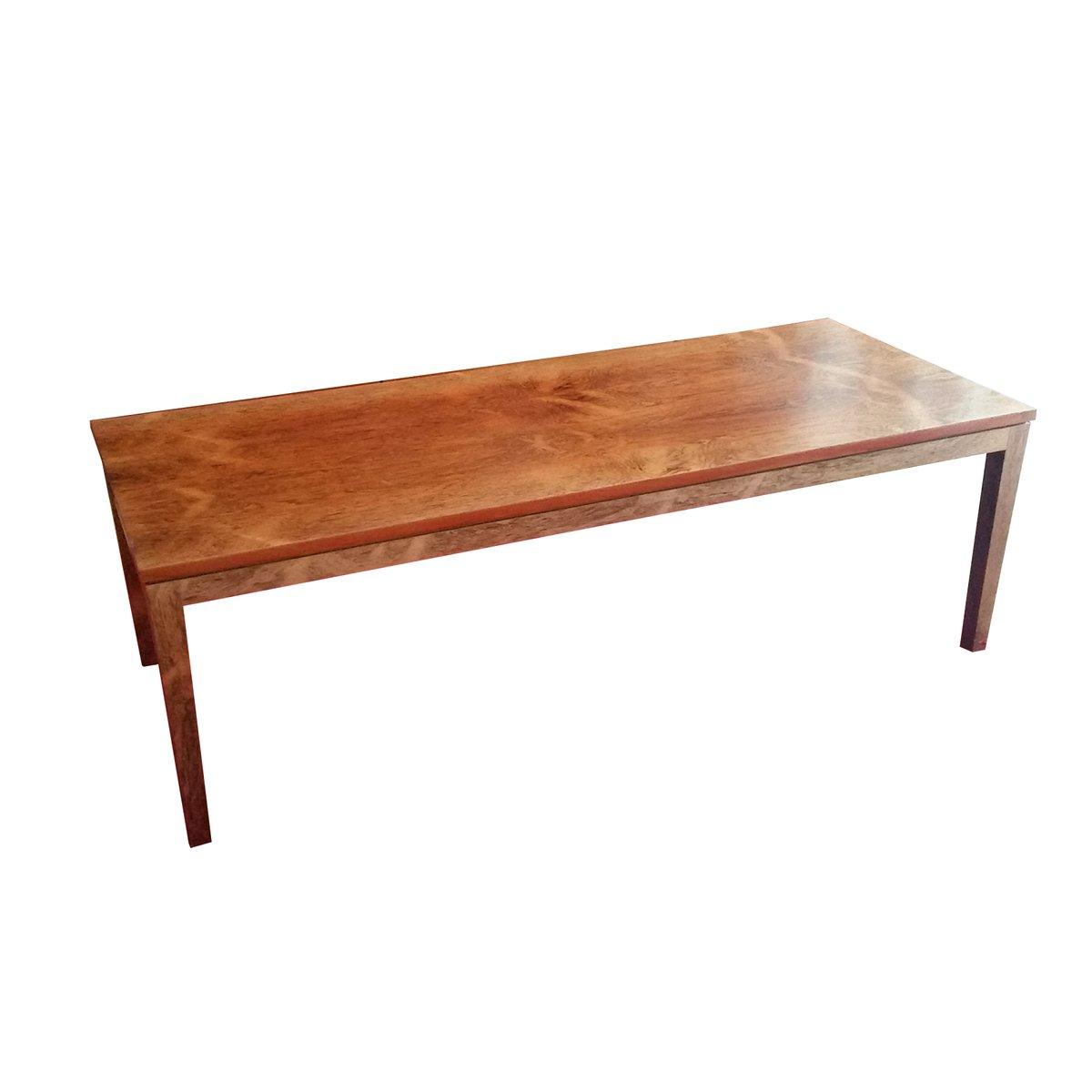 grande table basse vintage en palissandre en vente sur pamono. Black Bedroom Furniture Sets. Home Design Ideas
