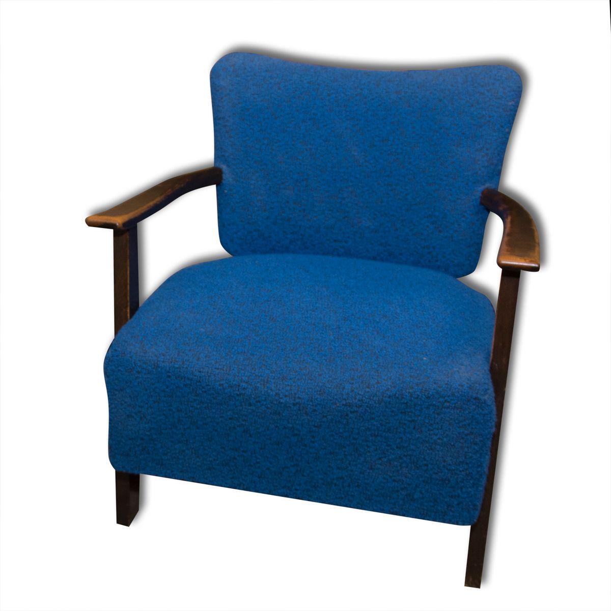 blaue sessel von thonet 1930er 2er set bei pamono kaufen. Black Bedroom Furniture Sets. Home Design Ideas