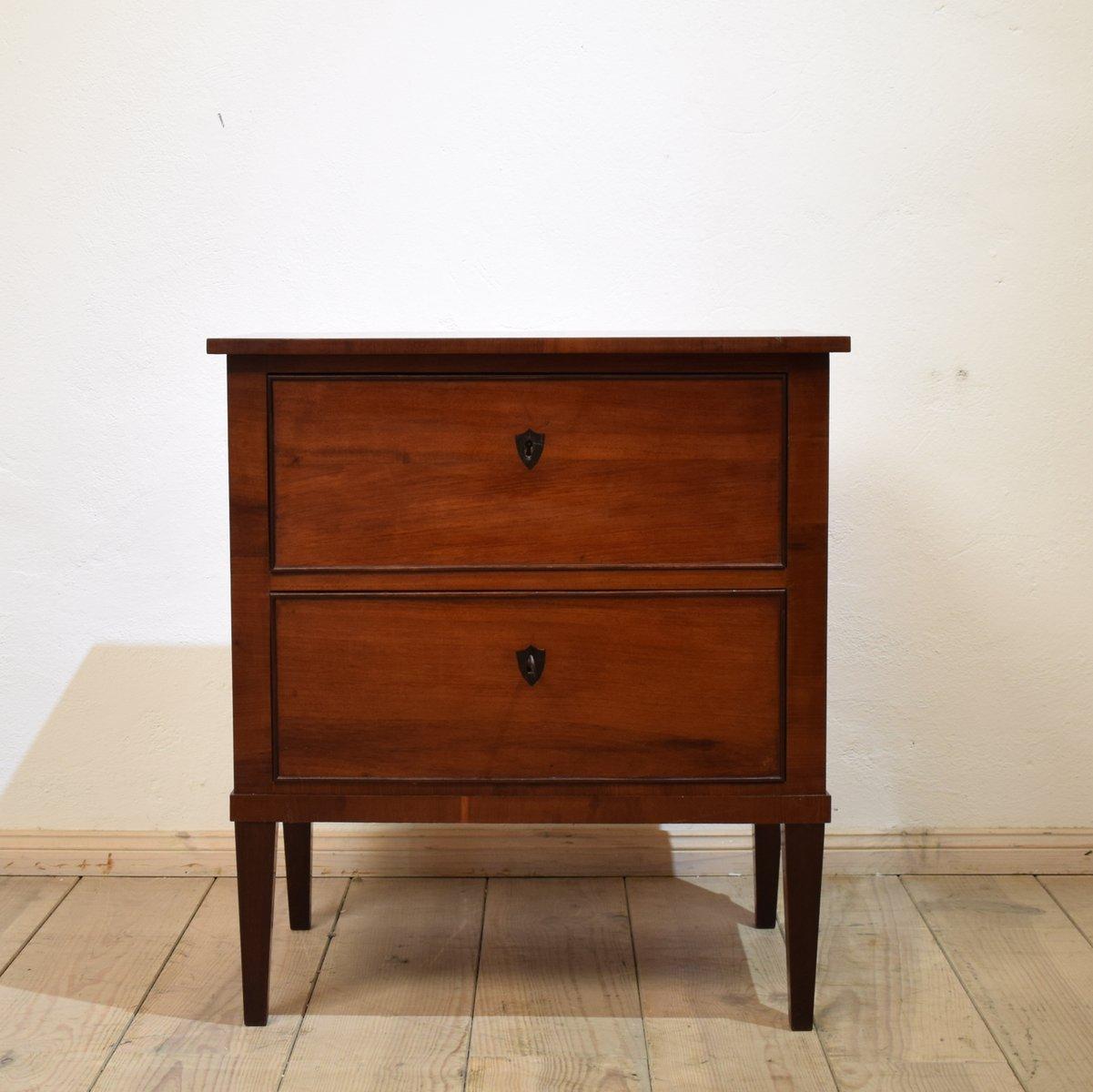 biedermeier mahagoni kommode 1820er bei pamono kaufen. Black Bedroom Furniture Sets. Home Design Ideas
