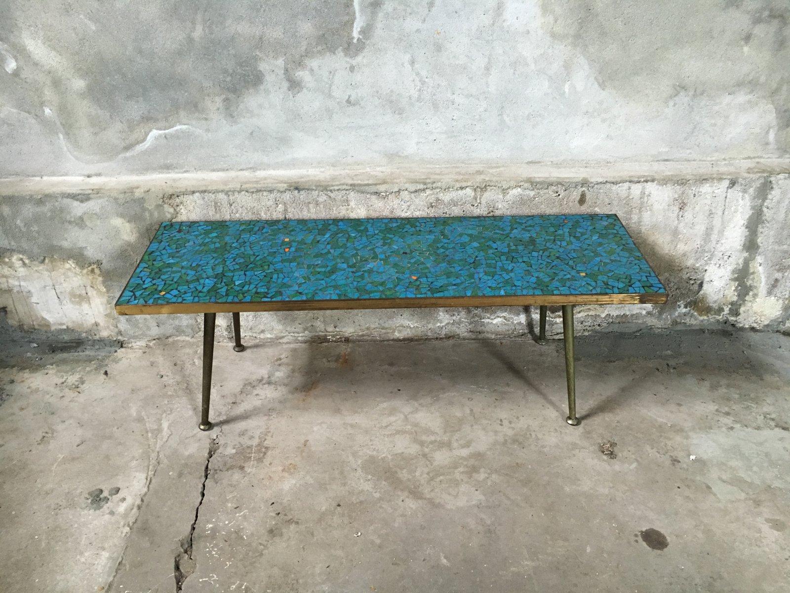 Mosaic Coffee Table, 1950s