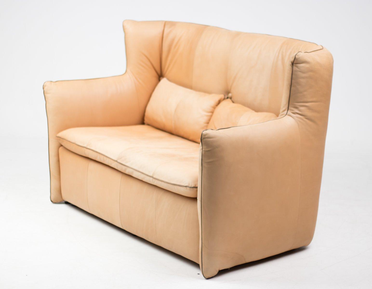 Vintage 2 seater sofa by gerard van den berg for montis for Sofa 6 seater