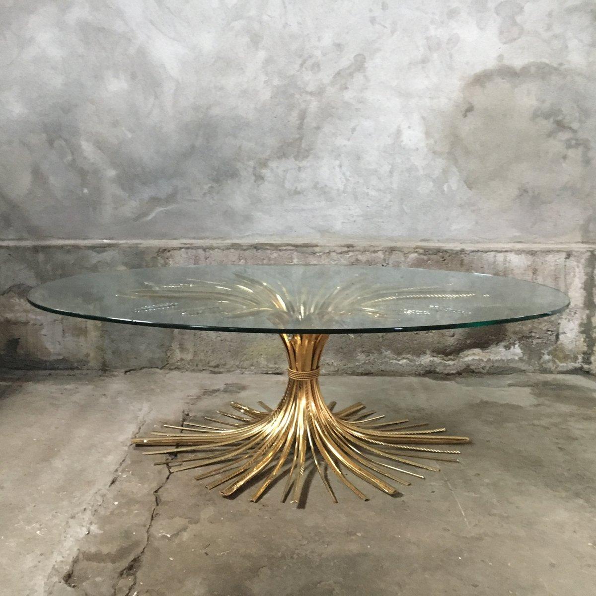 Mid century wheat sheaf coffee table irish antique dealers - Mid Century Wheat Sheaf Coffee Table