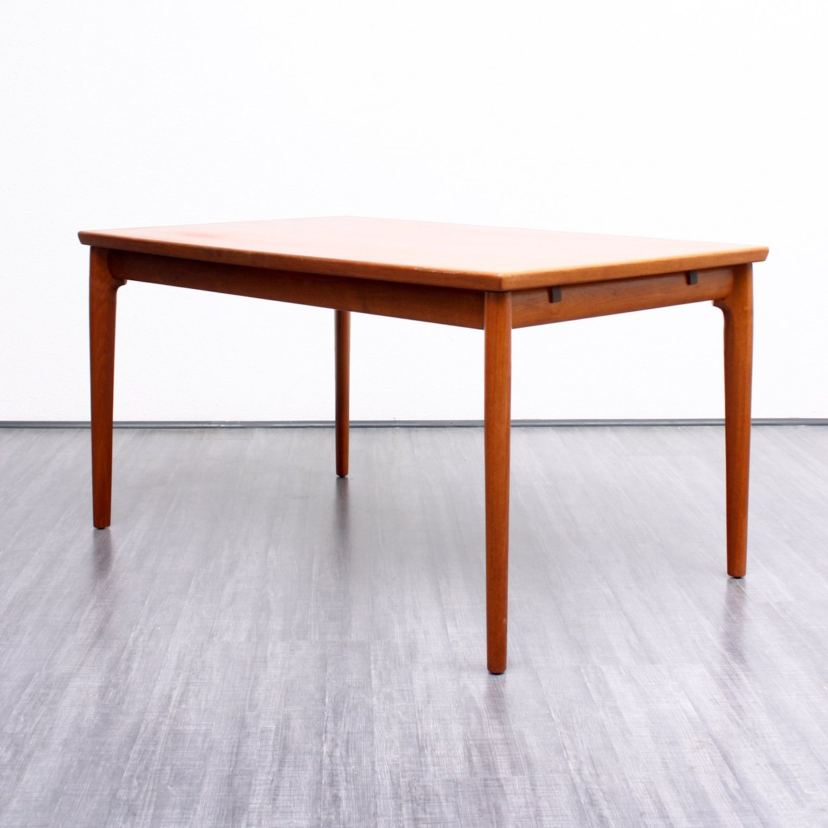 Dining Table in Teak 1960s for sale at Pamono : dining table in teak 1960s 6 from www.pamono.co.uk size 1200 x 1200 jpeg 84kB