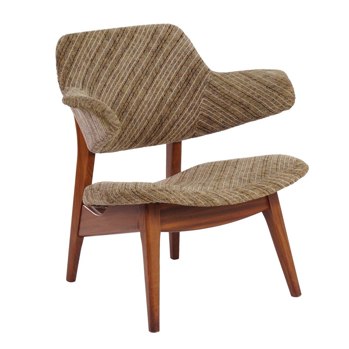 vintage stuhl von louis van teeffelen f r w b 1960er bei. Black Bedroom Furniture Sets. Home Design Ideas
