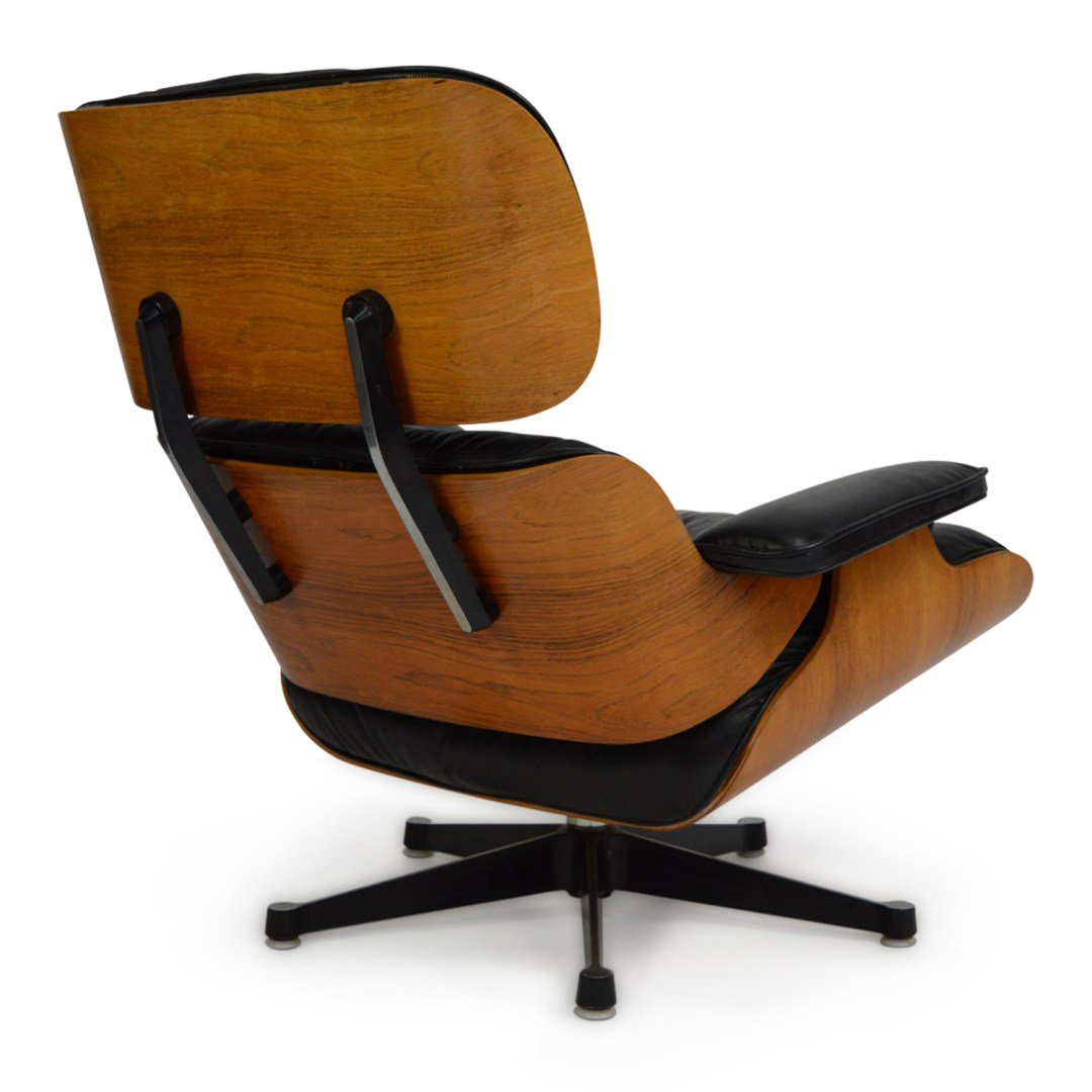 Lounge chair with ottoman by charles ray eames for for Charles eames lounge chair preisvergleich