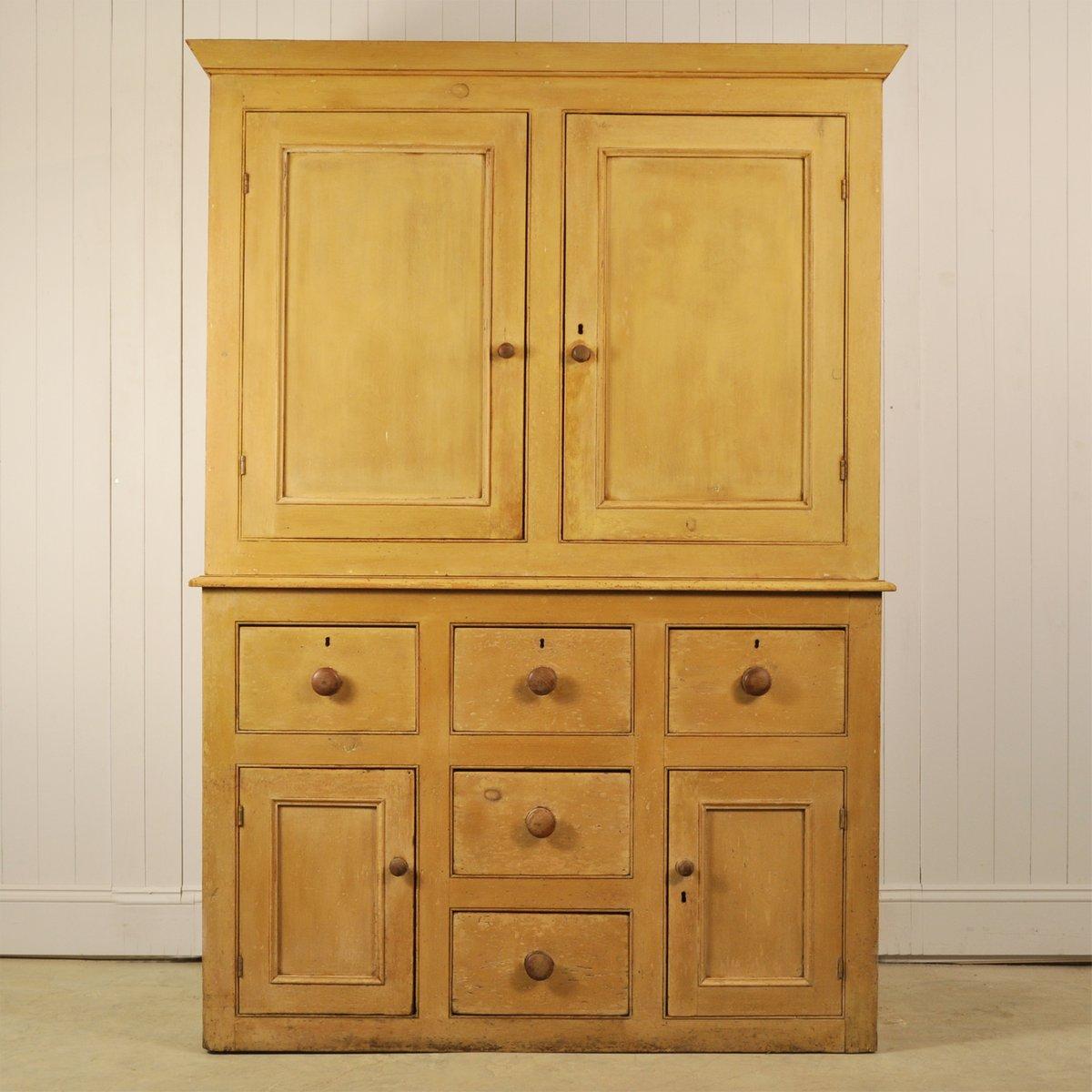 antiker englischer schrank bei pamono kaufen. Black Bedroom Furniture Sets. Home Design Ideas