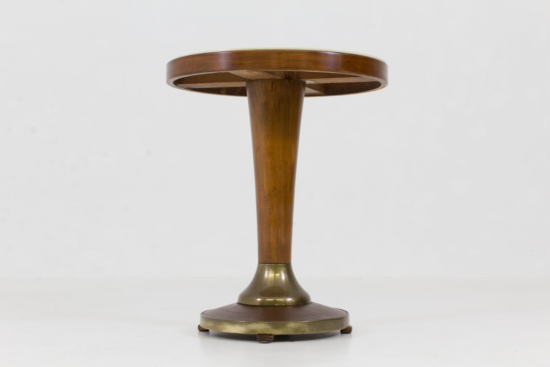 French Art Deco Side Table With Glass Top, 1930s 8. $1,958.00. Price Per  Piece