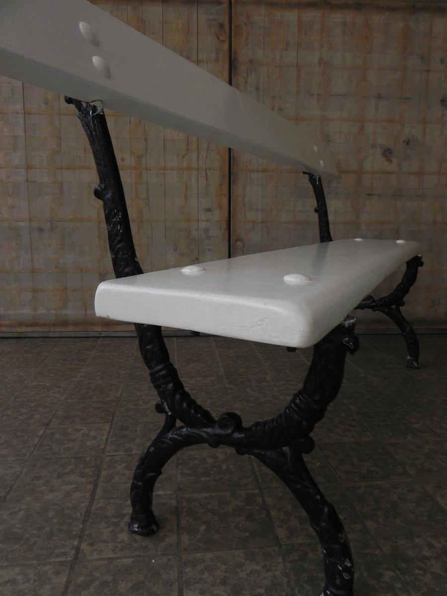 franz sische vintage gartenbank bei pamono kaufen. Black Bedroom Furniture Sets. Home Design Ideas