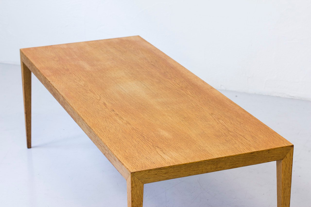 Mid Century Danish Oak Coffee Table By Severin Hansen For Haslev 1960s For Sale At Pamono