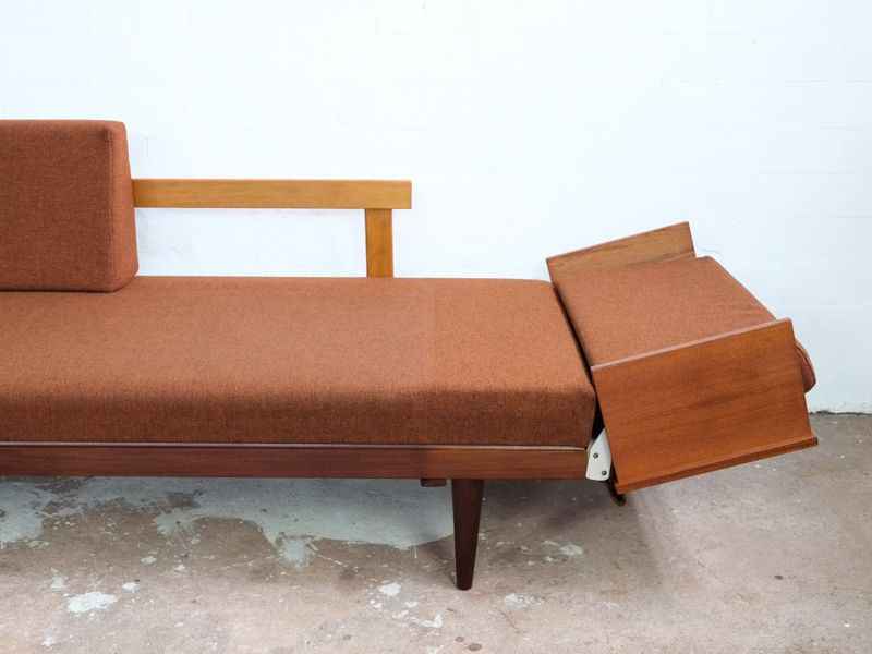 Danish Sofa Beds For Corner Formation 1960s Set Of 2 For