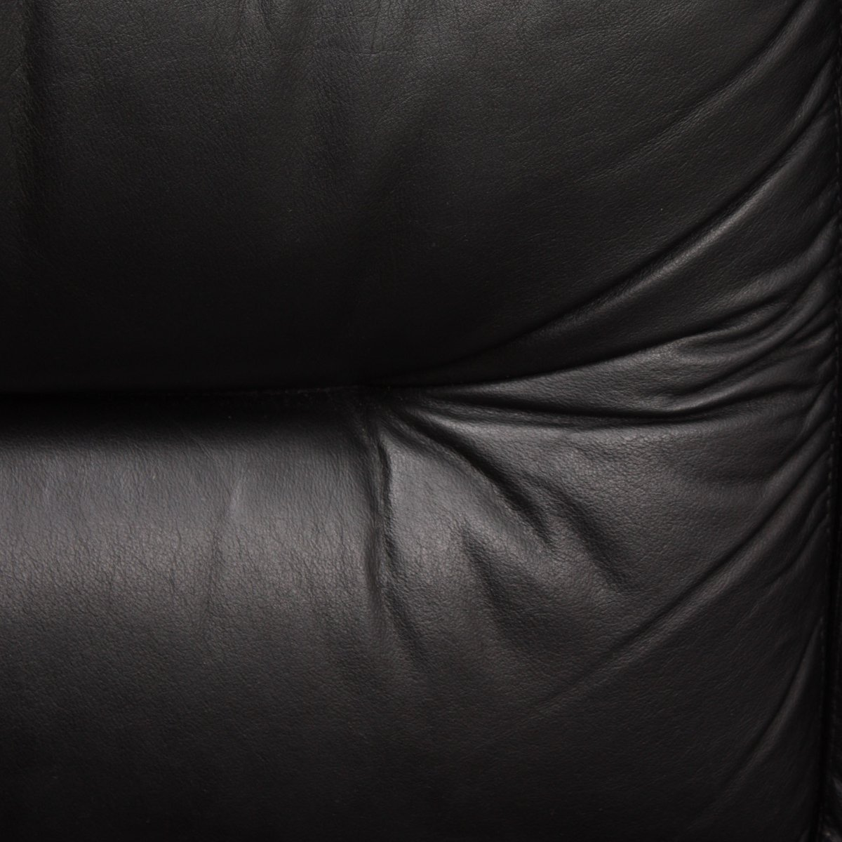 Black leather chair texture - Vintage Black Leather Lounge Chair 1970s