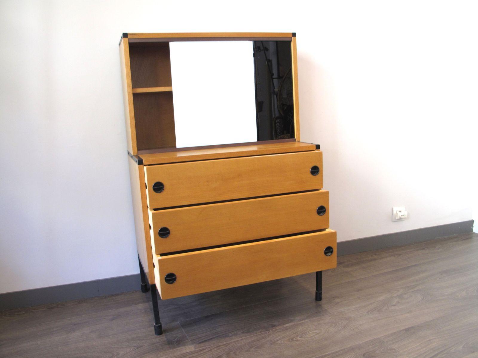 meuble de rangement vintage de minvieille en vente sur pamono. Black Bedroom Furniture Sets. Home Design Ideas