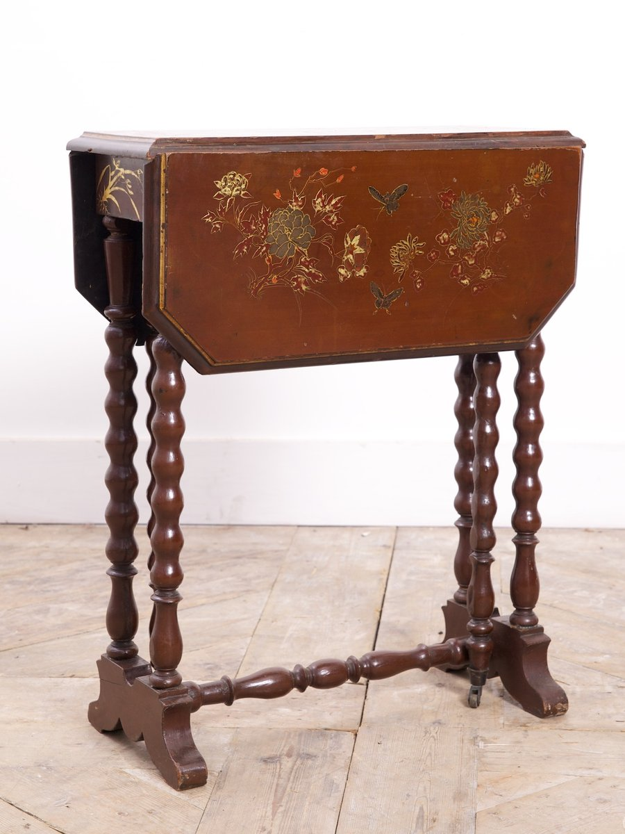 Chinoiserie Gate Leg Table 1850s For Sale At Pamono