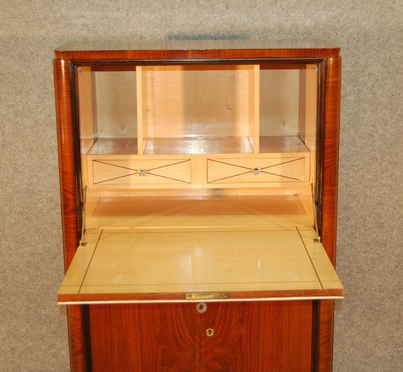 secr taire art d co 1940s en vente sur pamono. Black Bedroom Furniture Sets. Home Design Ideas