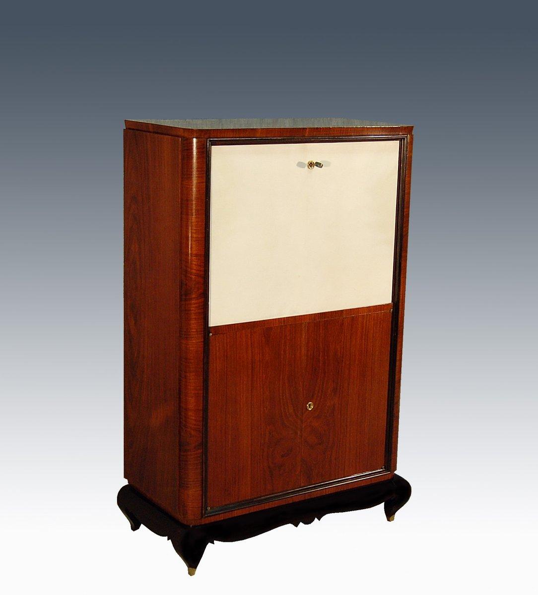 art deco secretaire 1940s for sale at pamono. Black Bedroom Furniture Sets. Home Design Ideas