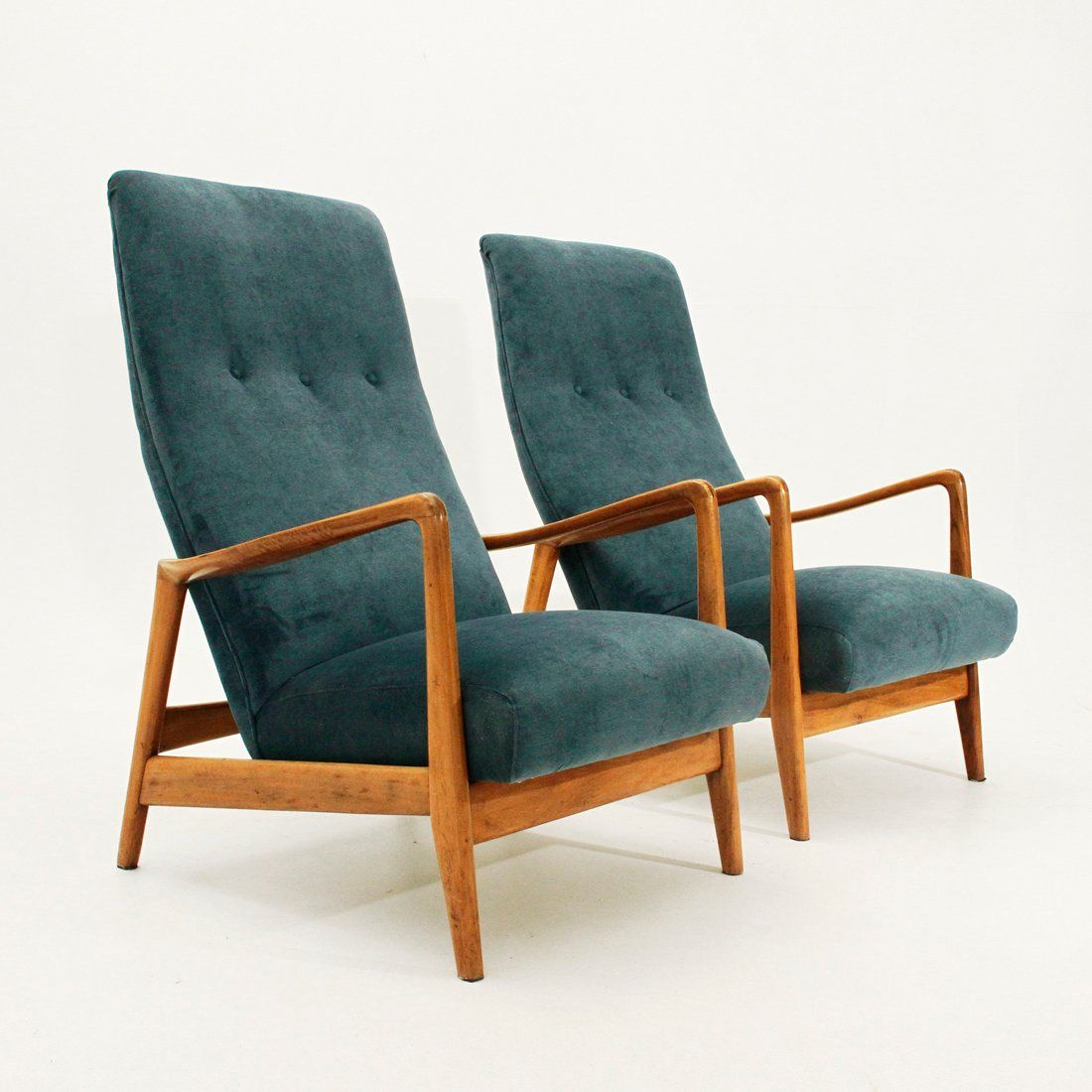 829 High Back Armchairs By Gio Ponti For Cassina 1958