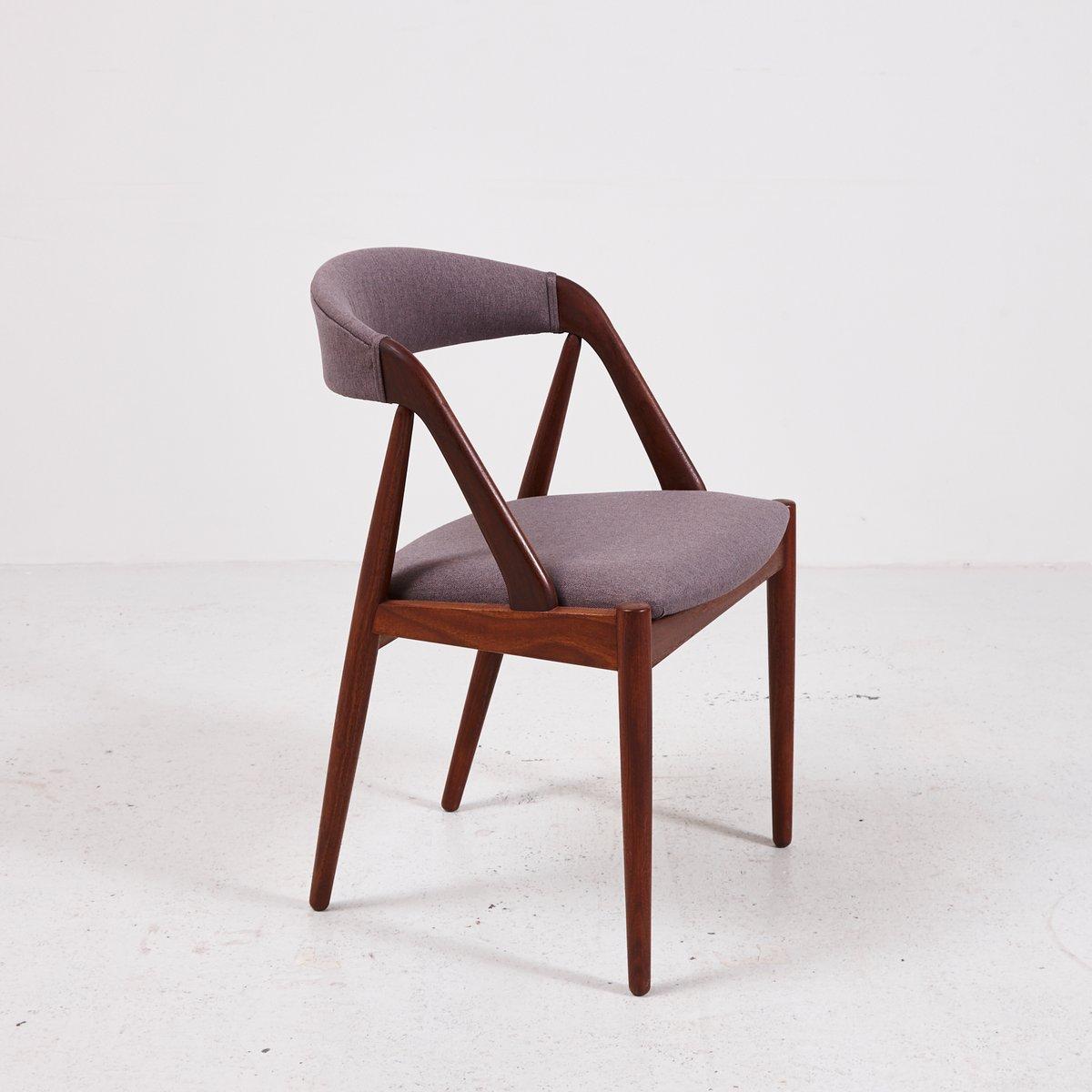Mid century model 31 teak chair by kai kristiansen for schou andersen for sale at pamono - Kai kristiansen chair ...