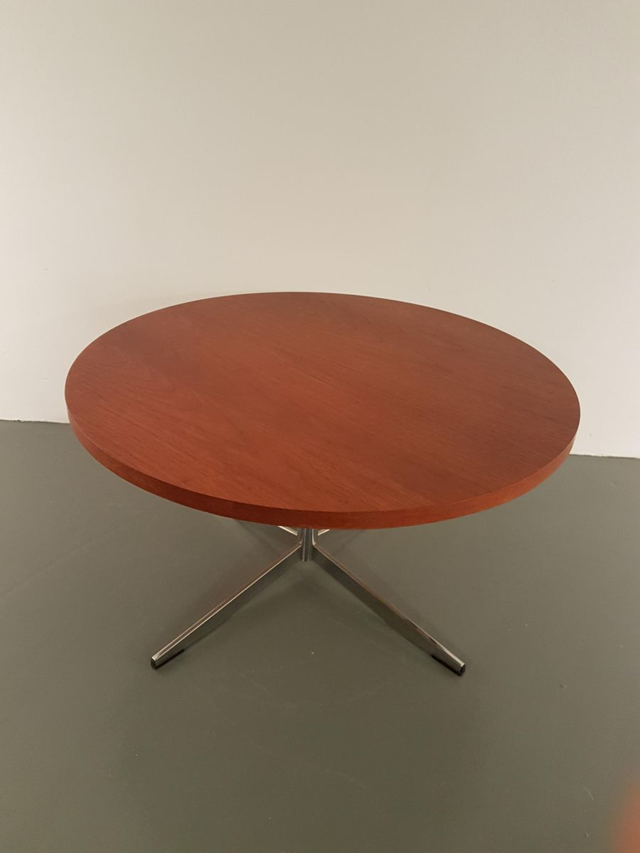 Round Teak Coffee Table 1960s For Sale At Pamono