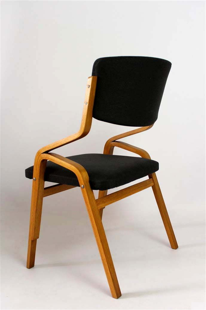 Czech Bent Plywood Chairs From Holesov, 1970s, Set Of 2 For Sale ...