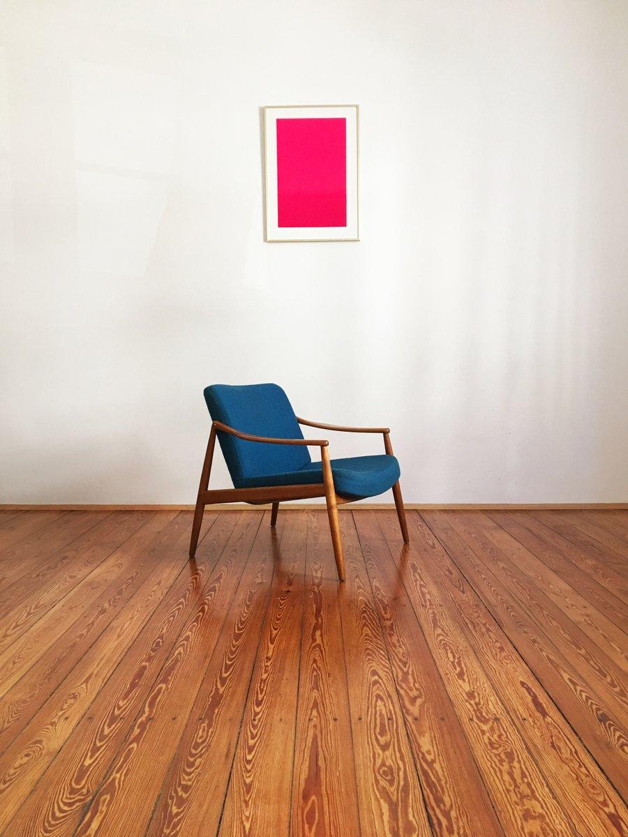 mid century kirschholz polsterstuhl von hartmut lohmeyer f r wilkhahn bei pamono kaufen. Black Bedroom Furniture Sets. Home Design Ideas