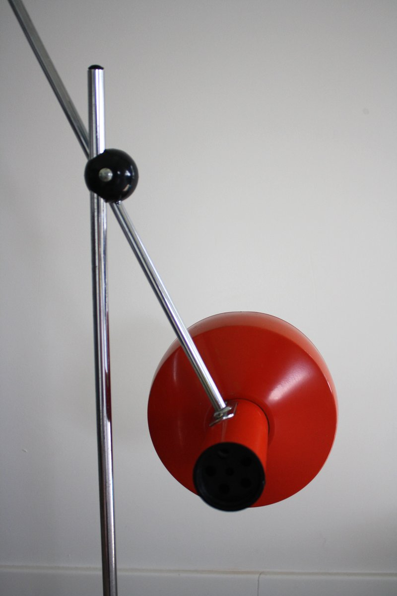 Vintage articulated floor lamp 1970s for sale at pamono for 1970s floor lamps