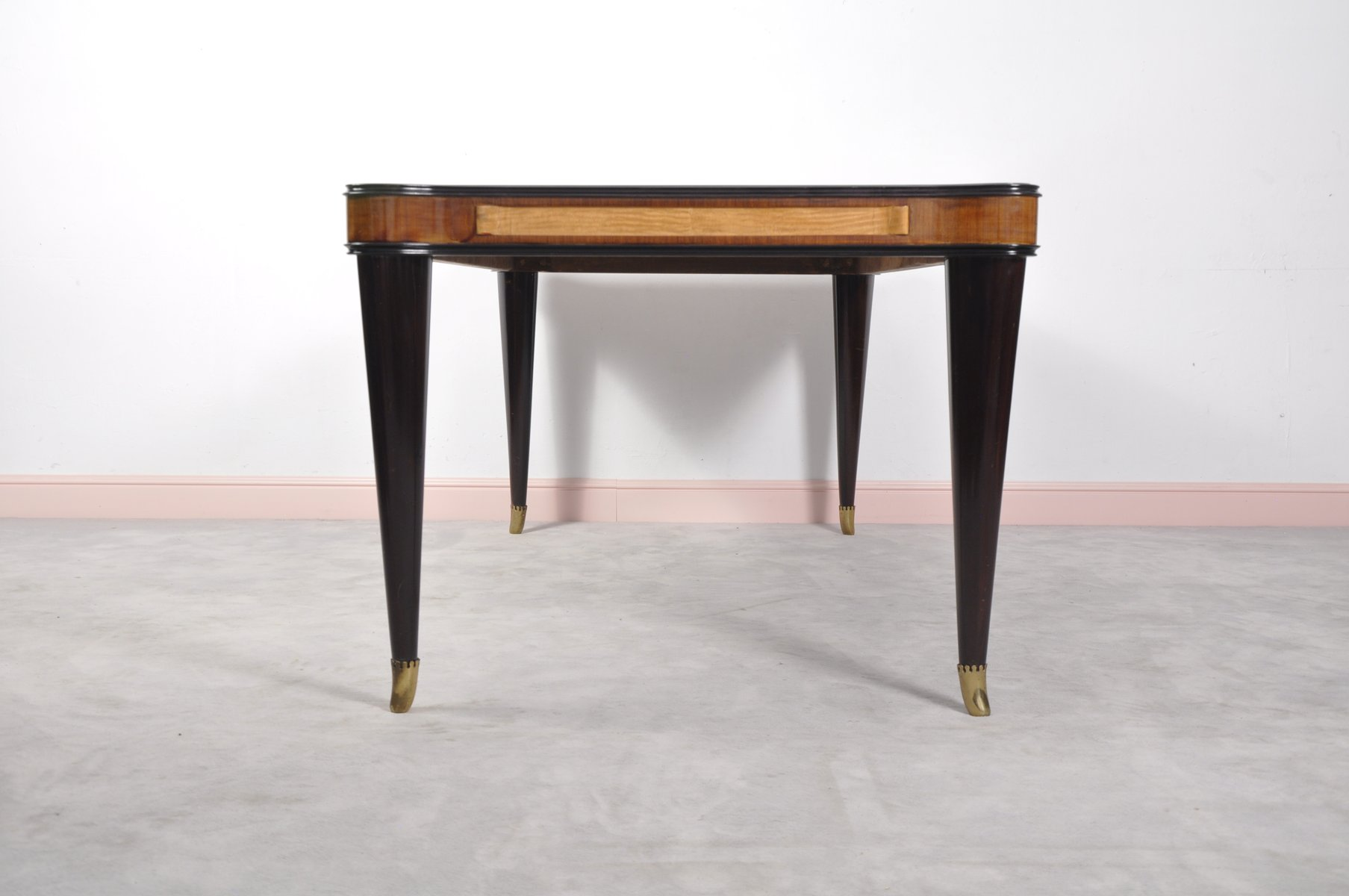 Glass dining table with price - Vintage Italian Glass Dining Table By Paolo Buffa