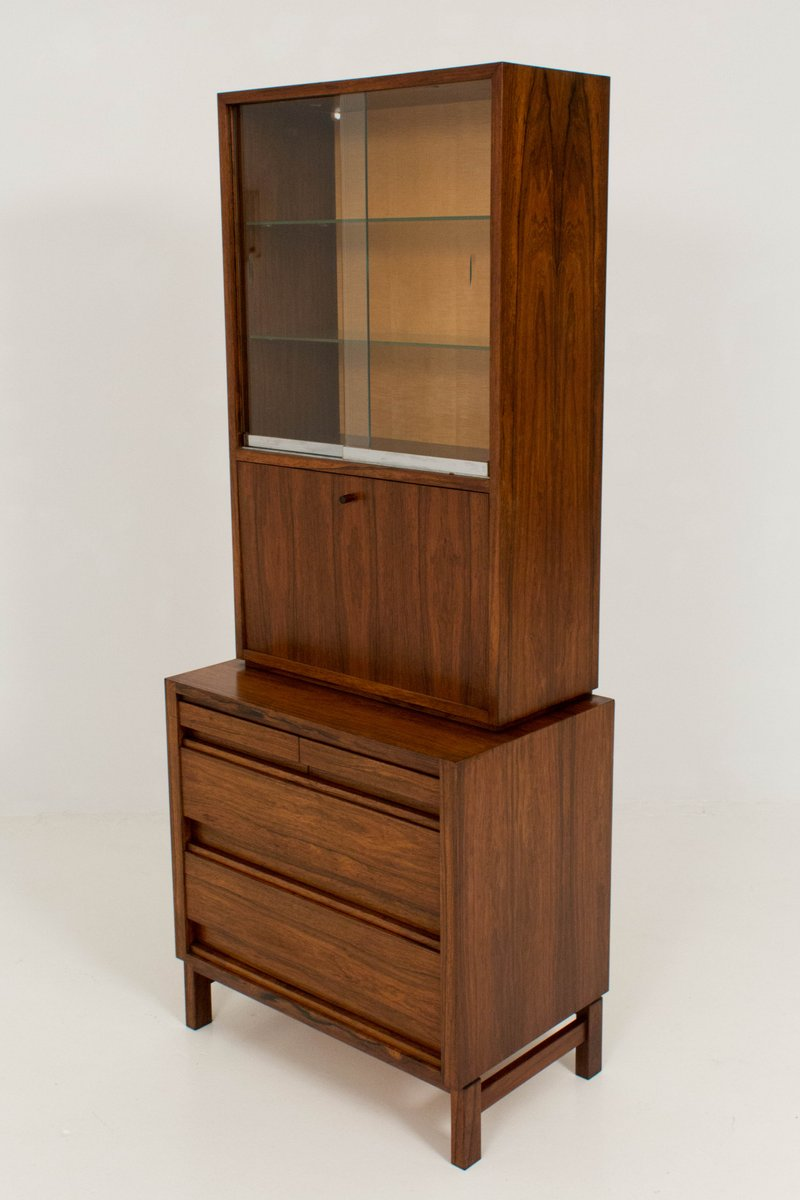 mid century cabinet mid century rosewood wine cabinet 1960s for at 23319