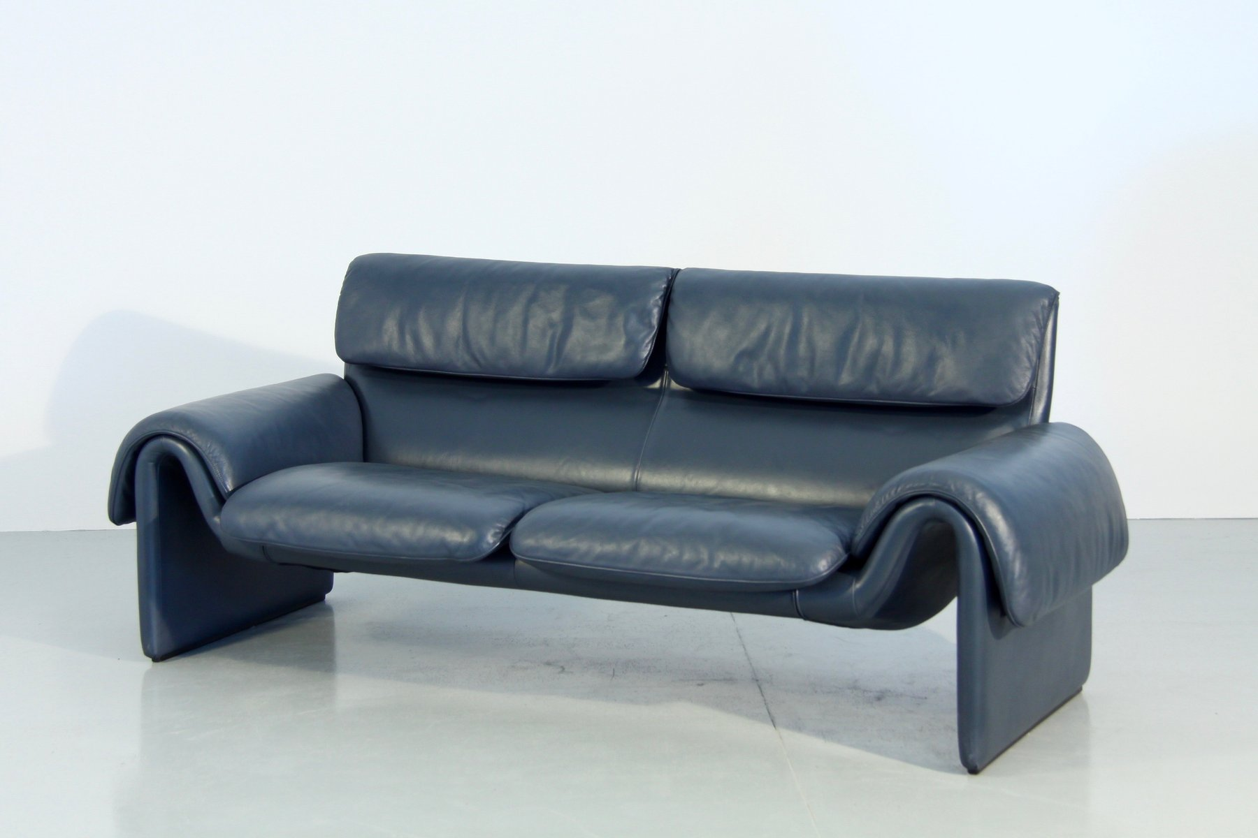 ds 2011 leather sofa from de sede 1980s for sale at pamono. Black Bedroom Furniture Sets. Home Design Ideas