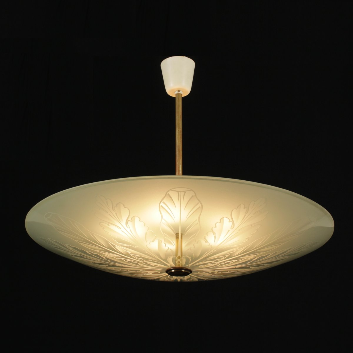 vintage lampe von pietro chiesa f r fontana arte bei pamono kaufen. Black Bedroom Furniture Sets. Home Design Ideas