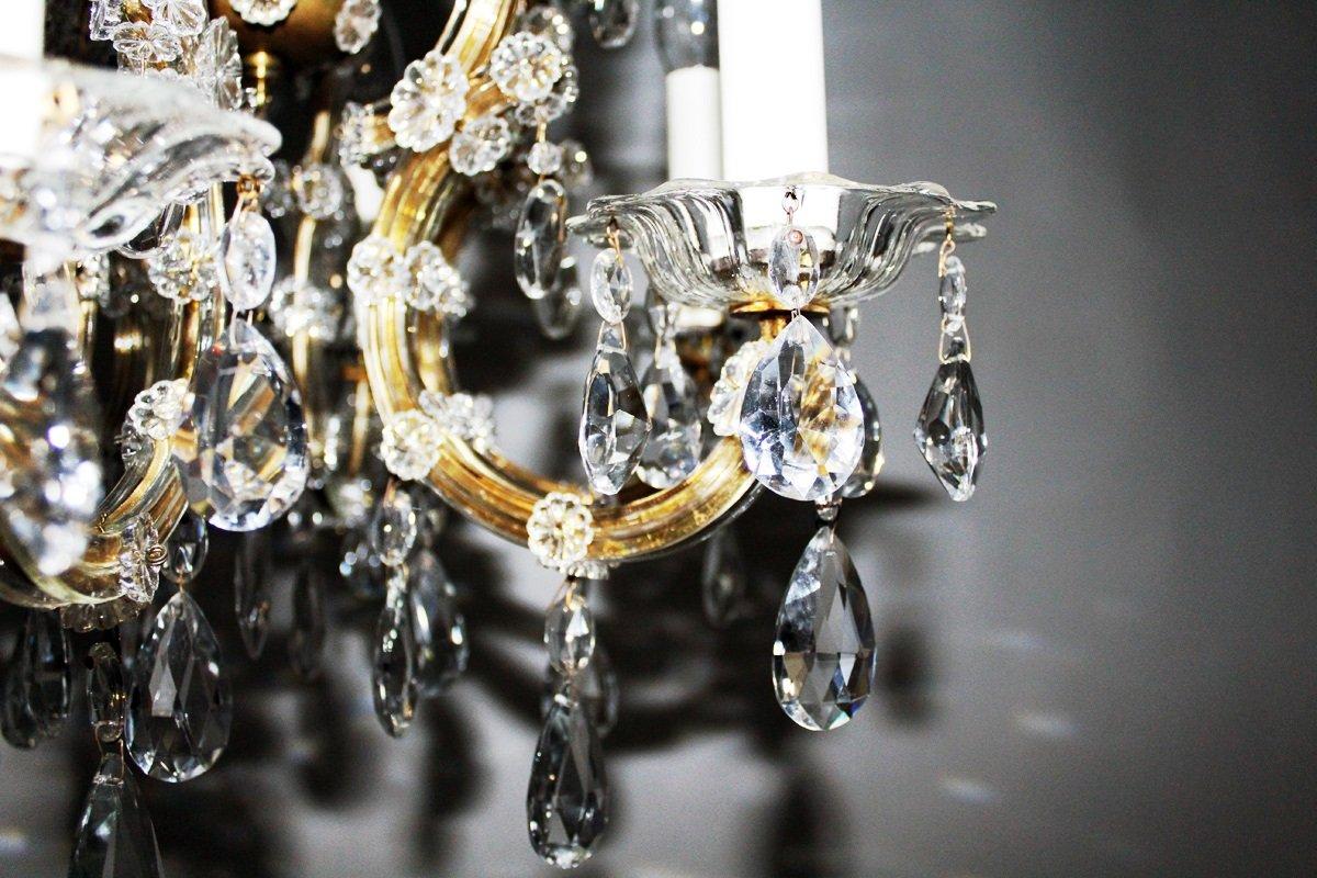 vintage kristall kronleuchter von lobmeyr bei pamono kaufen. Black Bedroom Furniture Sets. Home Design Ideas