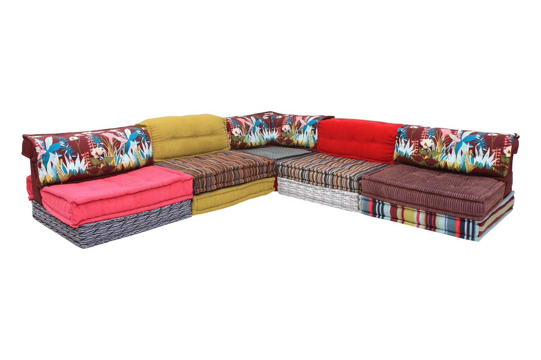 Mah jong modular sectional corner sofa by hans hopfer for roche bobois 1970s for sale at pamono - Mah jong divano ...
