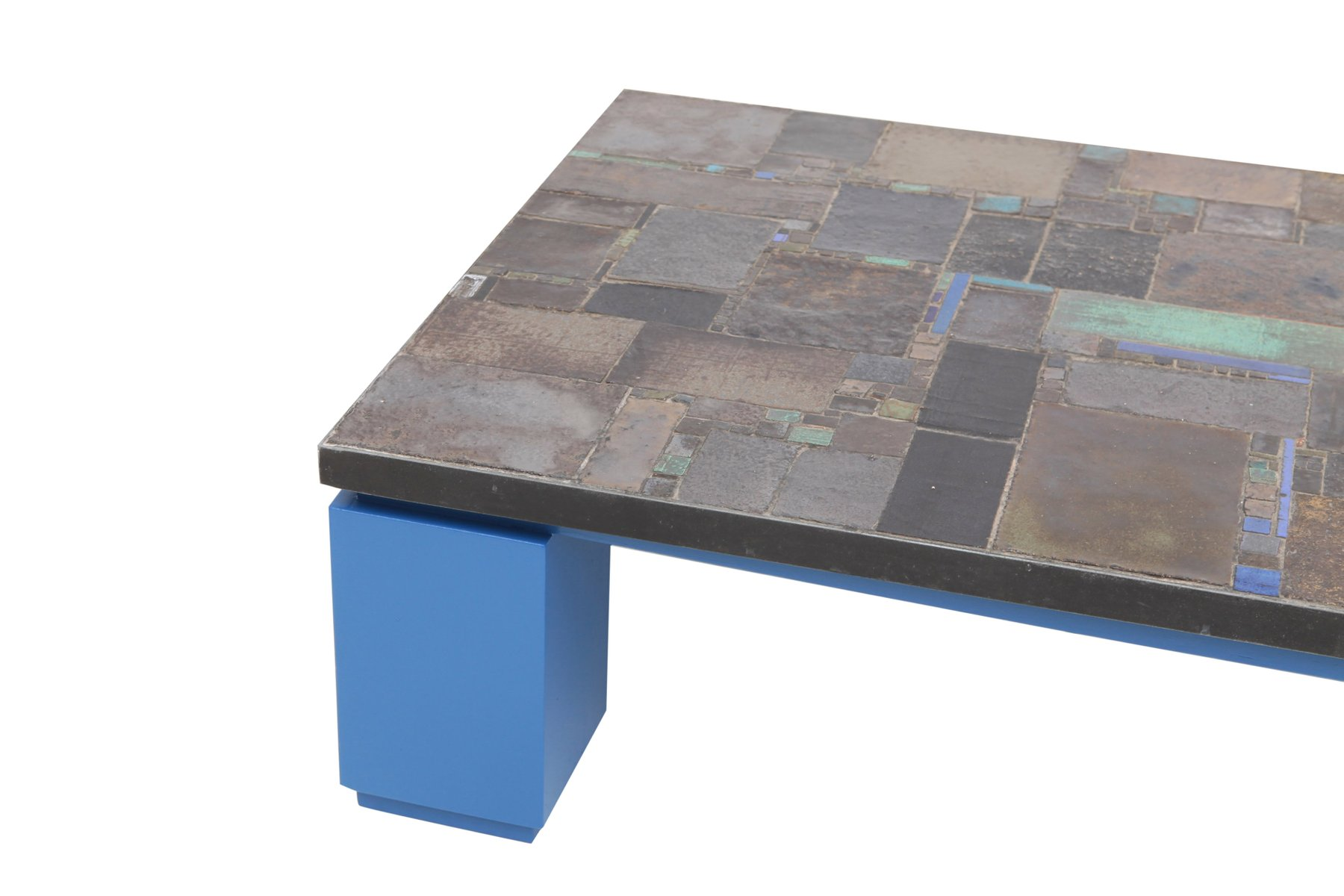 Ceramic Tile Coffee Table from Pia Manu for sale at Pamono