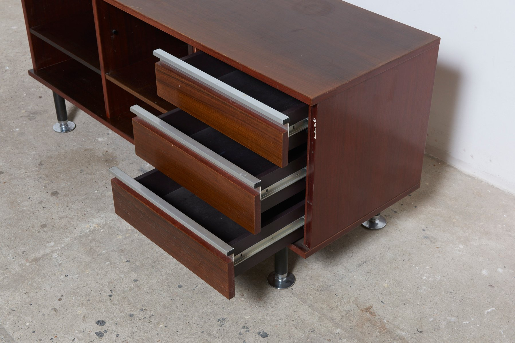 sideboard by ico parisi for m i m roma 1958 for sale at. Black Bedroom Furniture Sets. Home Design Ideas