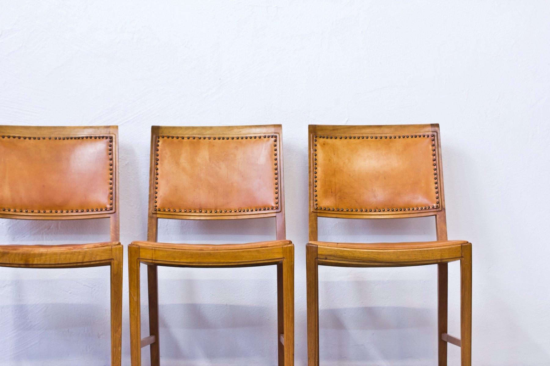 Dining Chairs by Bertil Fridhagen for Bodafors 1961 Set of 8 for