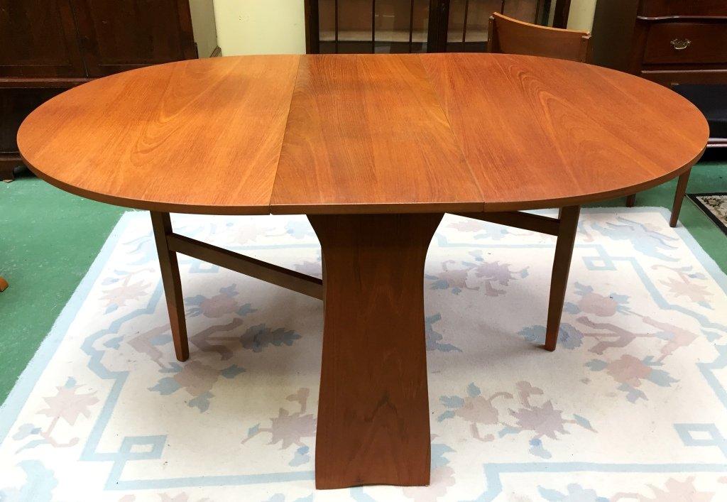 teak gateleg table 1970s