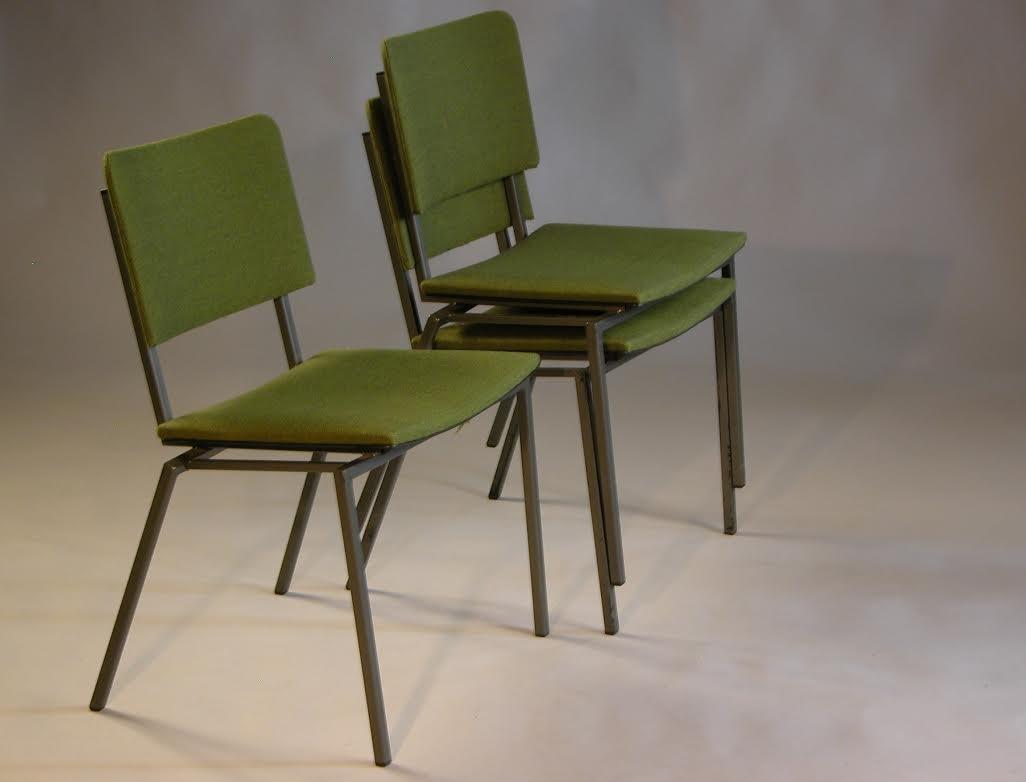 D nischer vintage stuhl aus metall 1960er bei pamono kaufen for Stuhl metall