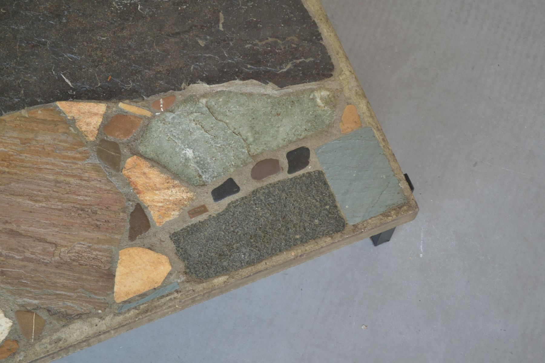 Slate Stone Coffee Table by Paul Kingma 1964 for sale at
