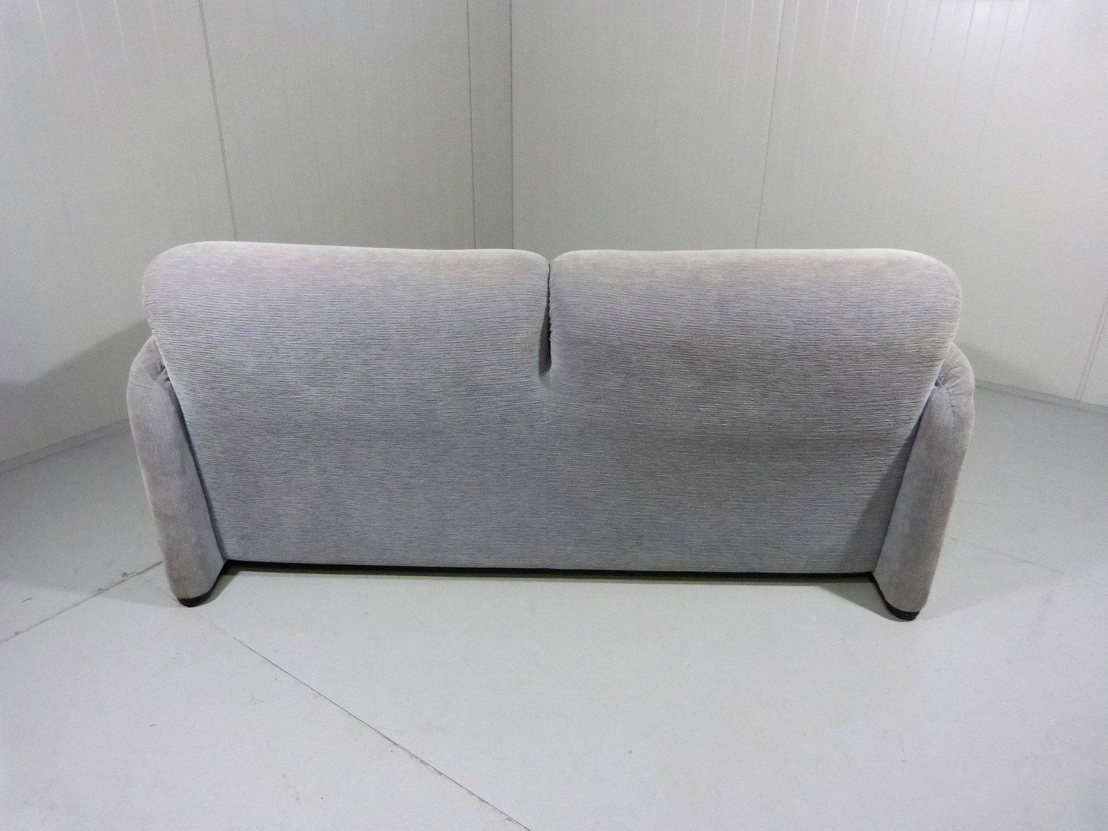 Vintage maralunga 2 seater sofa by vico magistretti for for Sofa 8 cassina