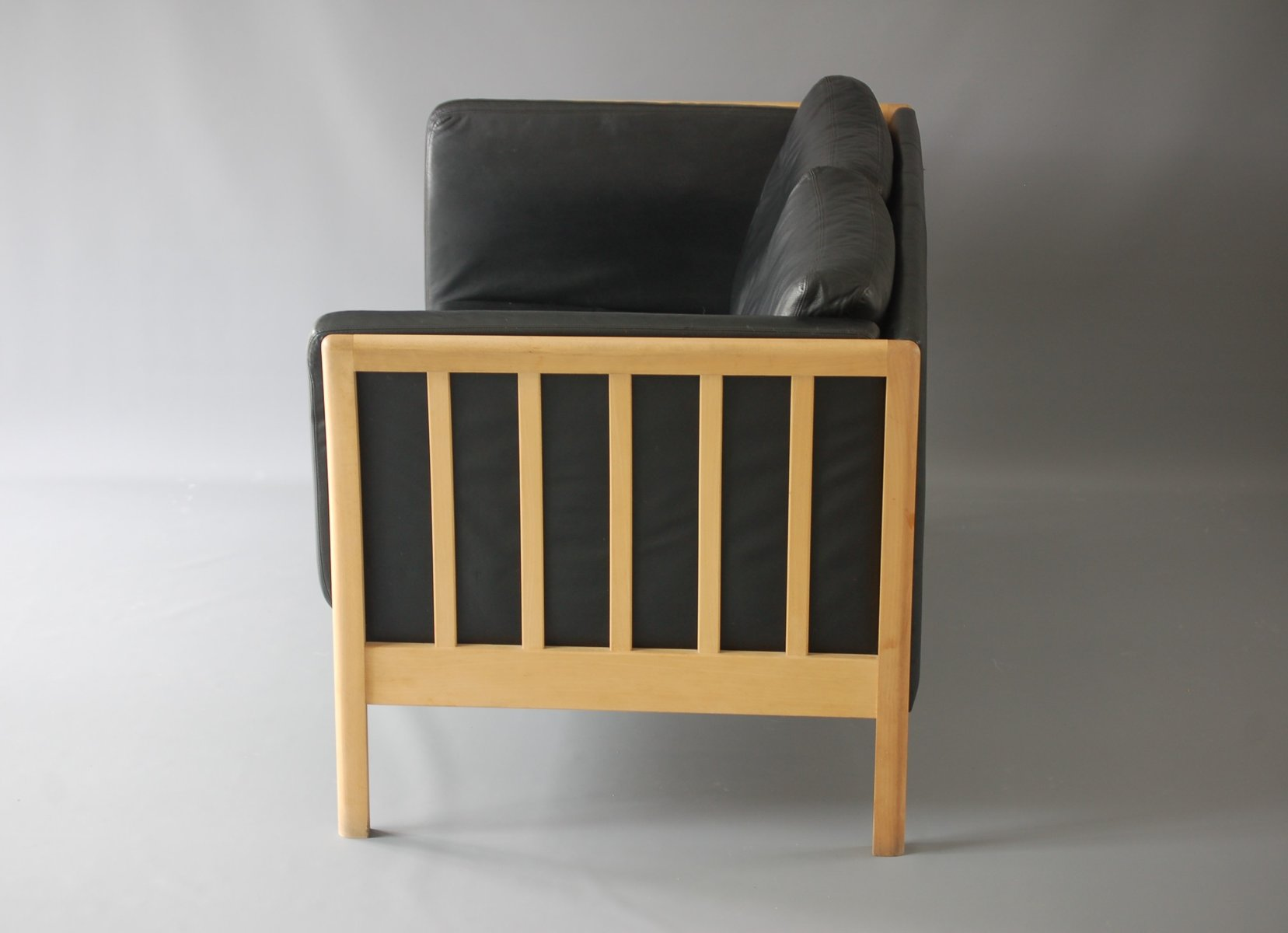 Danish design leather living room set for sale at pamono for Wg r living room sets
