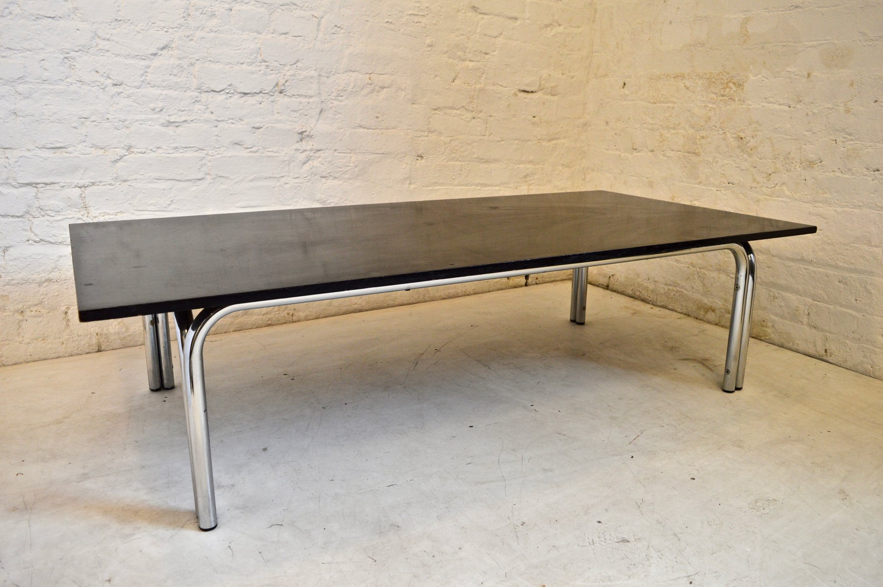 mid century modern coffee table by tim bates for pieff 1970s for sale at pamono. Black Bedroom Furniture Sets. Home Design Ideas