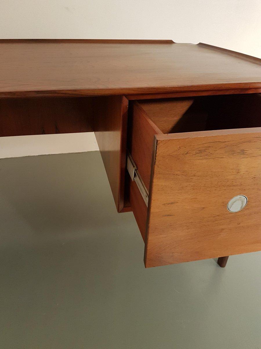 mid century palisander schreibtisch von dyrlund denmark. Black Bedroom Furniture Sets. Home Design Ideas