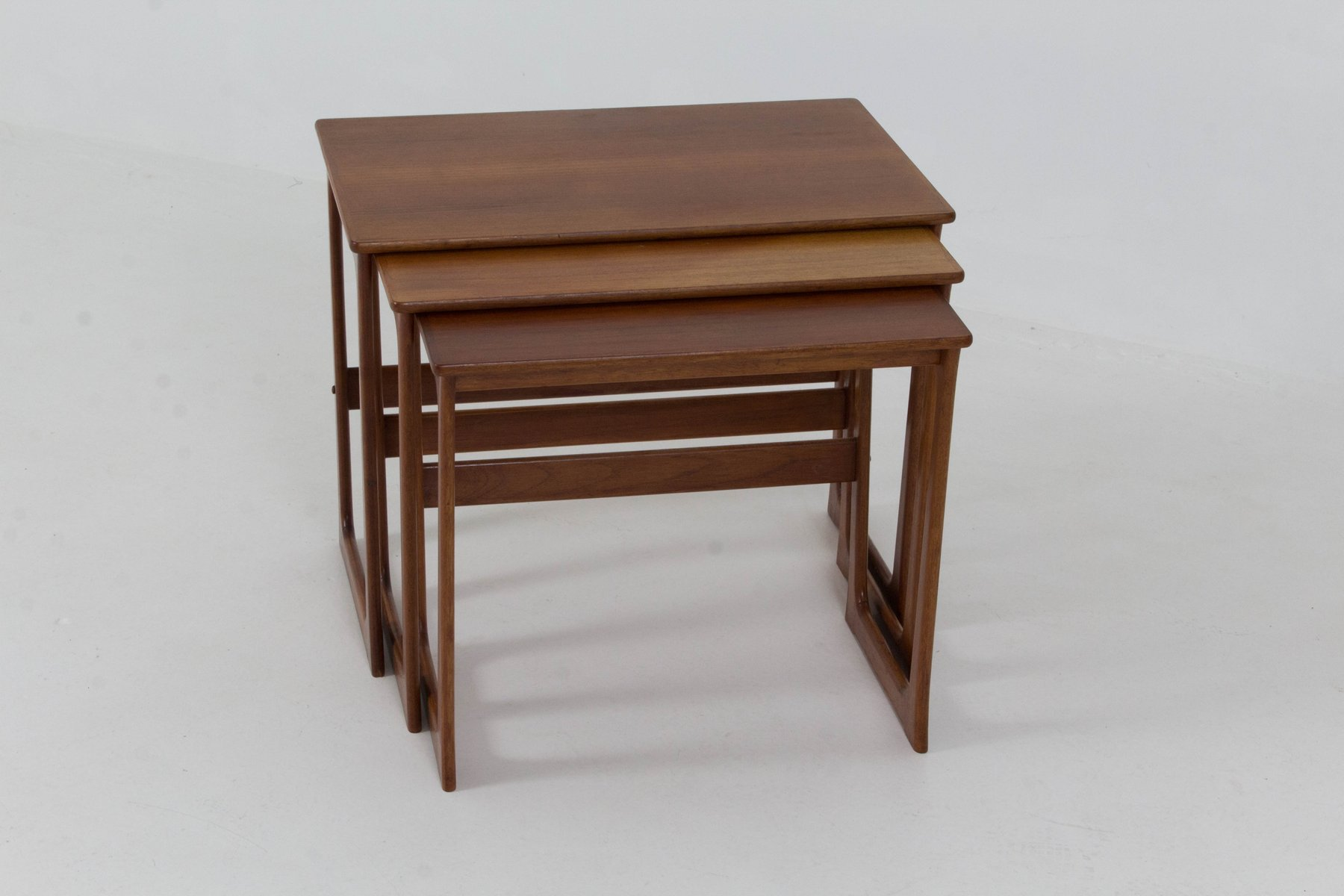 midcentury danish modern nesting tables by johannes andersen  - midcentury danish modern nesting tables by johannes andersen s