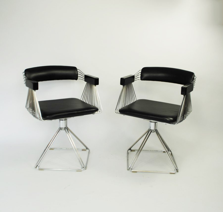 Side chairs by rudi verelst delta for novalux set of 2 for Side chairs for sale