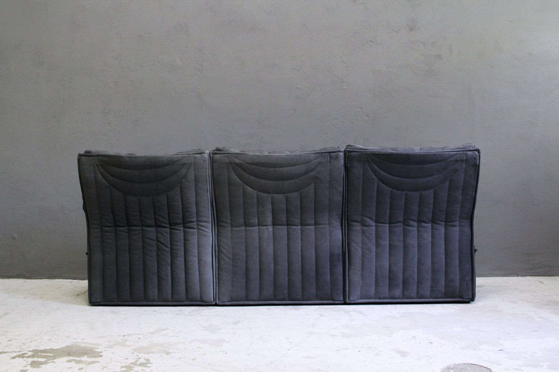 franz sisches vintage ledersofa von airborne international. Black Bedroom Furniture Sets. Home Design Ideas