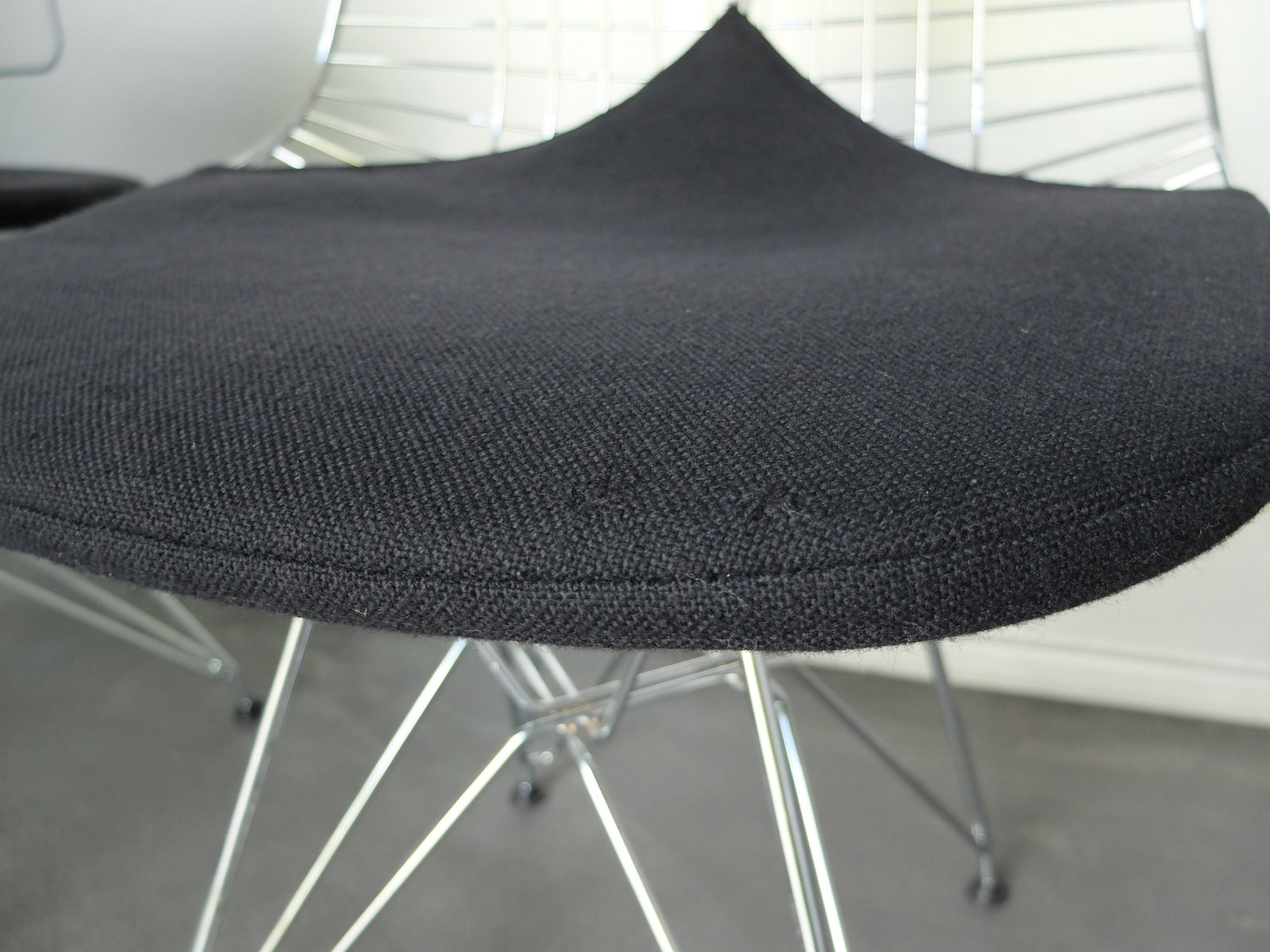Vintage DKR 2 Wire Chairs with Bikini Covers by Charles & Ray