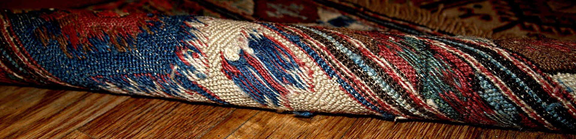 antiker russischer handgekn pfter sumak teppich bei pamono kaufen. Black Bedroom Furniture Sets. Home Design Ideas
