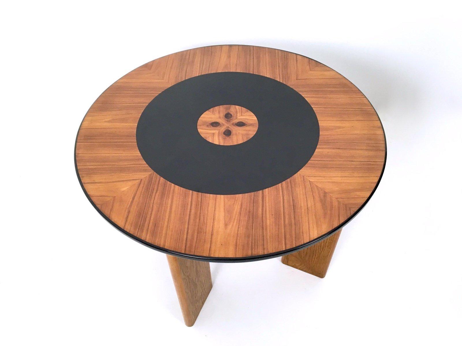 table de salle manger vintage en bois italie 1940s en vente sur pamono. Black Bedroom Furniture Sets. Home Design Ideas