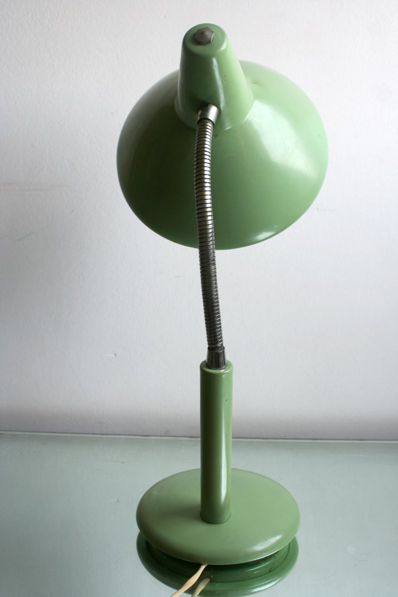 Price per piece - Mid-Century Water Green Desk Lamp, 1950s For Sale At Pamono