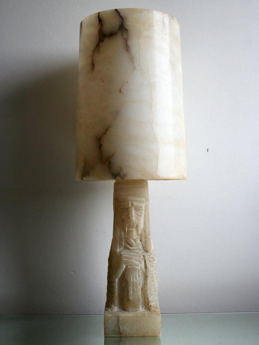 Vintage Alabaster Lamp 83