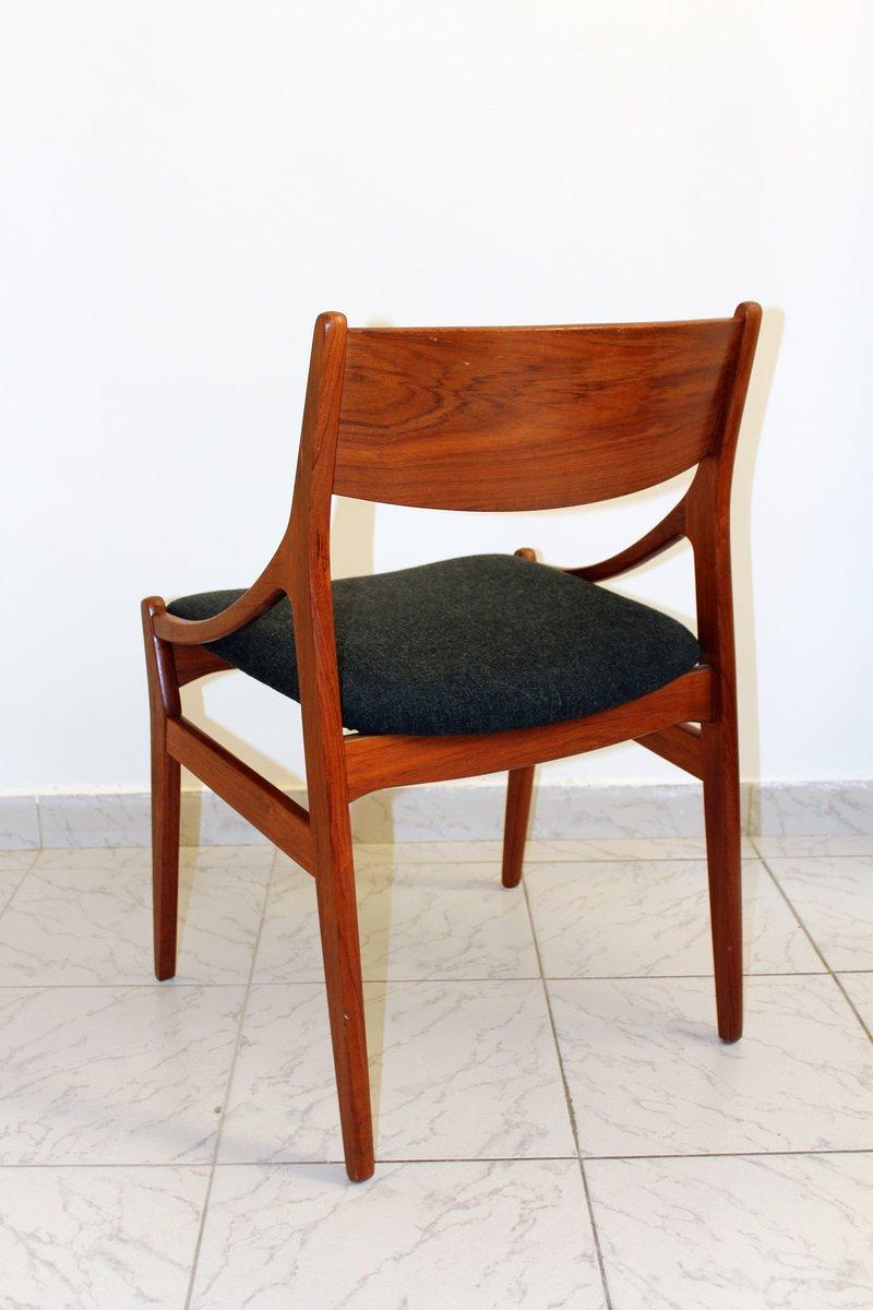 chaises de salon mid century en palissandre par vestervig eriksen pour tromborg 1960s set de 6. Black Bedroom Furniture Sets. Home Design Ideas